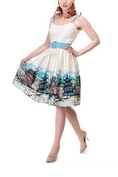 Collectif Jade Scenic Dress - Alternate List Image