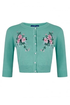 Collectif Lucy Embroidered Cardigan - Product List Image