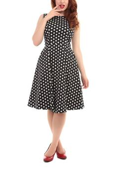 Collectif Polka Skater Dress - Alternate List Image