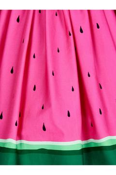 Collectif Watermelon Skater Skirt - Alternate List Image