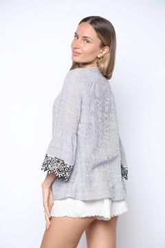 Collective Rack 3/4 Bell Sleeve Blouse - Alternate List Image
