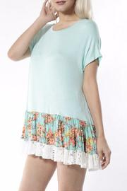 Collective Rack Floral Lace Top - Product Mini Image
