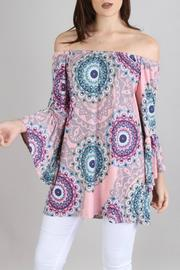 Collective Rack Medallion Print Tunic - Product Mini Image