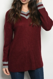 L Love Collegiate Style Sweater - Product Mini Image