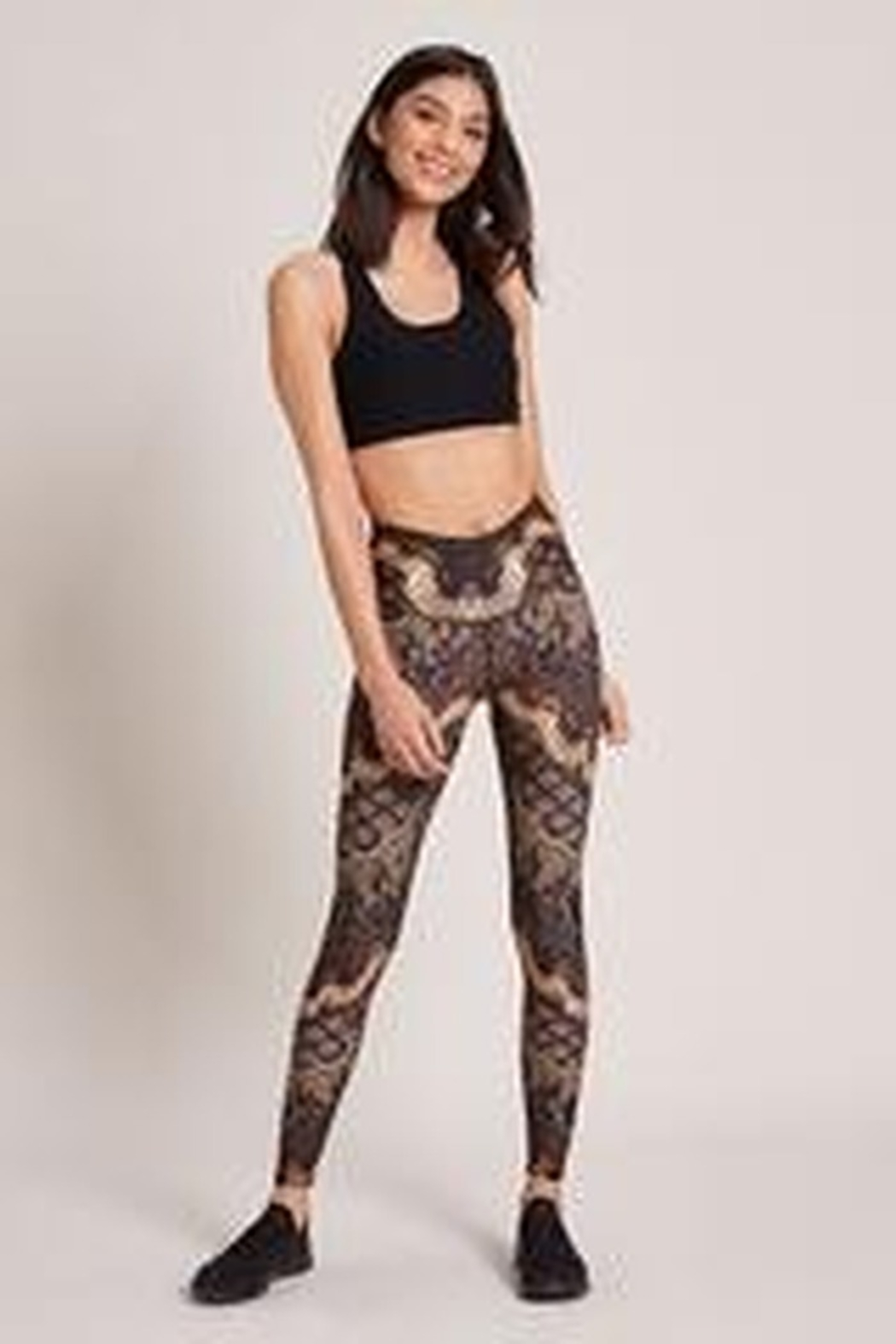 NIYAMA SOL Collete High Waisted Legging - Front Cropped Image