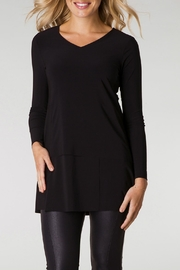Colletta Black Tunic Top - Product Mini Image