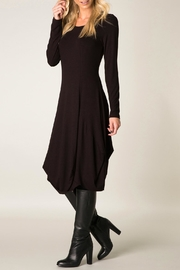 Colletta Deep Wine Dress - Product Mini Image