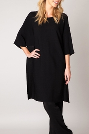 Colletta Knit Tunic Black - Product Mini Image