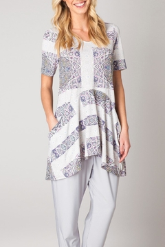 Colletta Multicolor Patterned Tunic - Product List Image