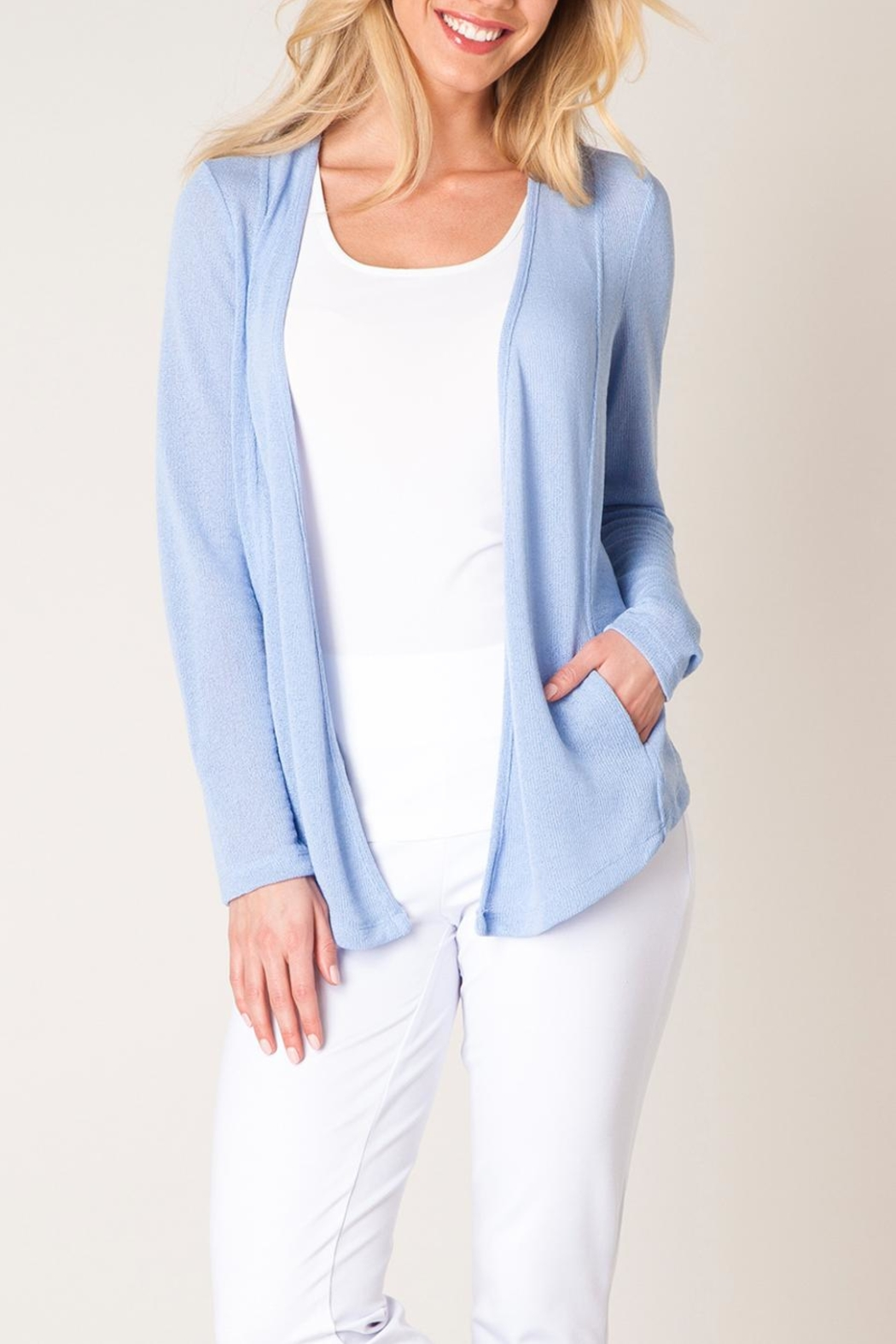 Colletta Pastel Blue Sweater - Main Image