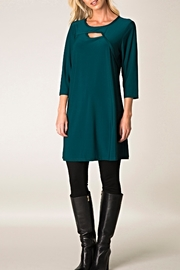 Colletta Silken Peekaboo Tunic/dress - Product Mini Image