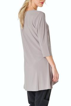 Shoptiques Product: Silky Taupe Tunic