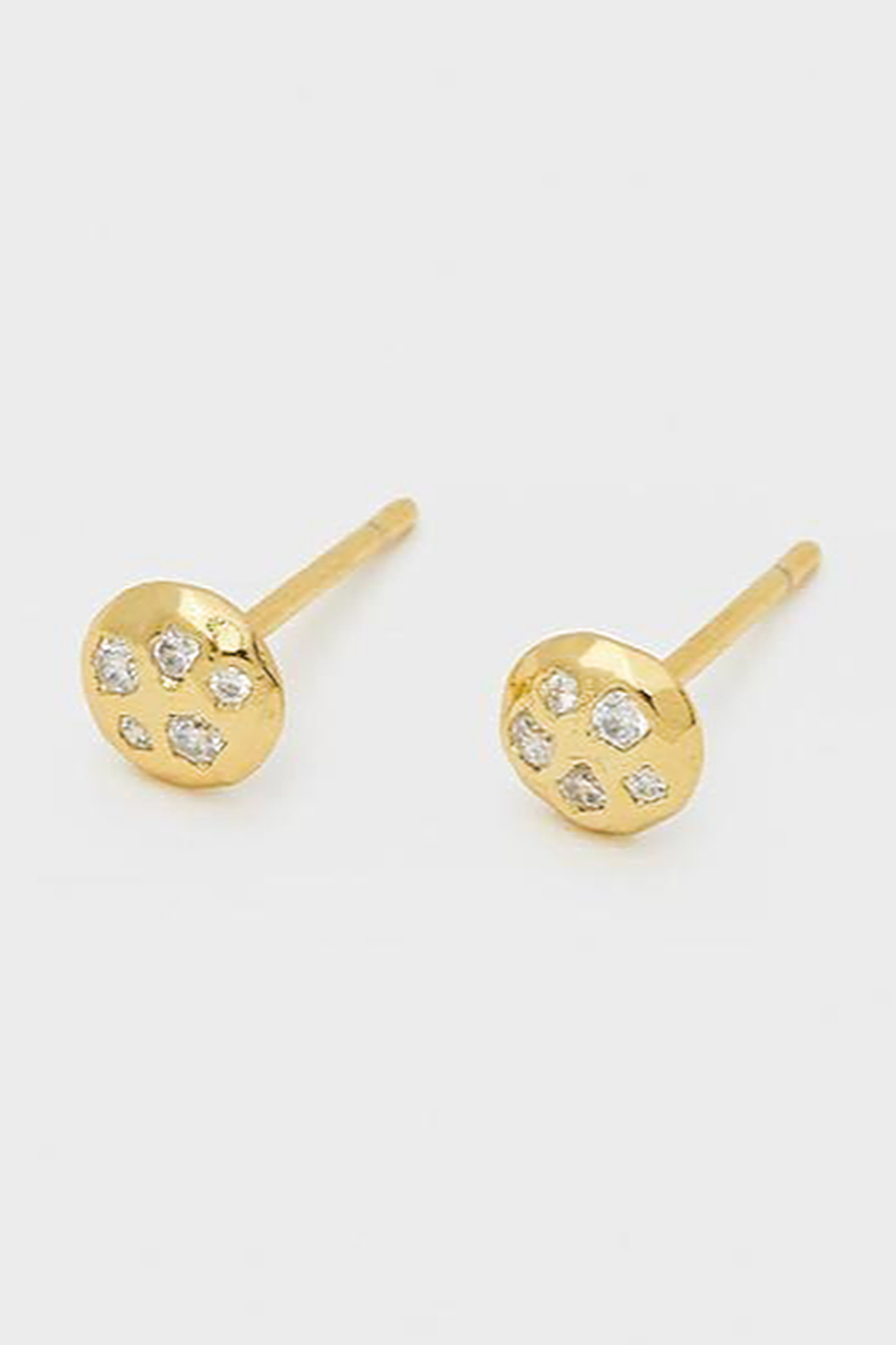 Gorjana Collette Circle Studs - Front Cropped Image