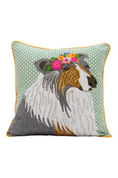 Shoptiques Product: Collie Pillow