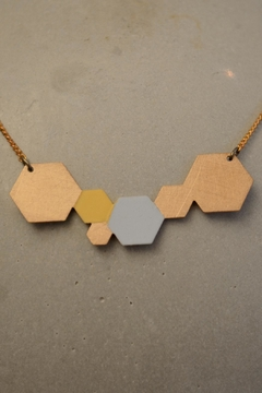 Ruby on Tuesday Collier Hexagon Necklace - Alternate List Image