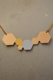 Ruby on Tuesday Collier Hexagon Necklace - Product Mini Image