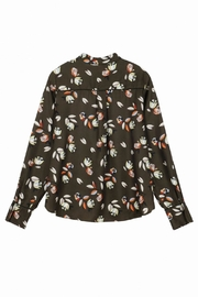 FRNCH Collin Printed Blouse - Back cropped