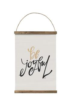 Shoptiques Product: Be Joyful Wall Art