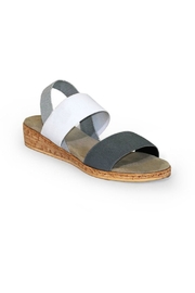 CHARLESTON Collins Wedge Sandal - Front full body