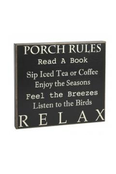 Shoptiques Product: Box Sign, Porch