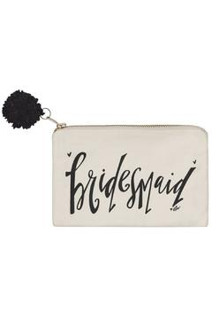 Collins Paintings Bridesmaid Cosmetic Pouch - Alternate List Image