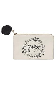 Collins Paintings Flower Girl Pouch - Alternate List Image