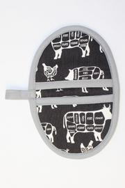 Collisionware Butcher Mini Potholder - Front cropped