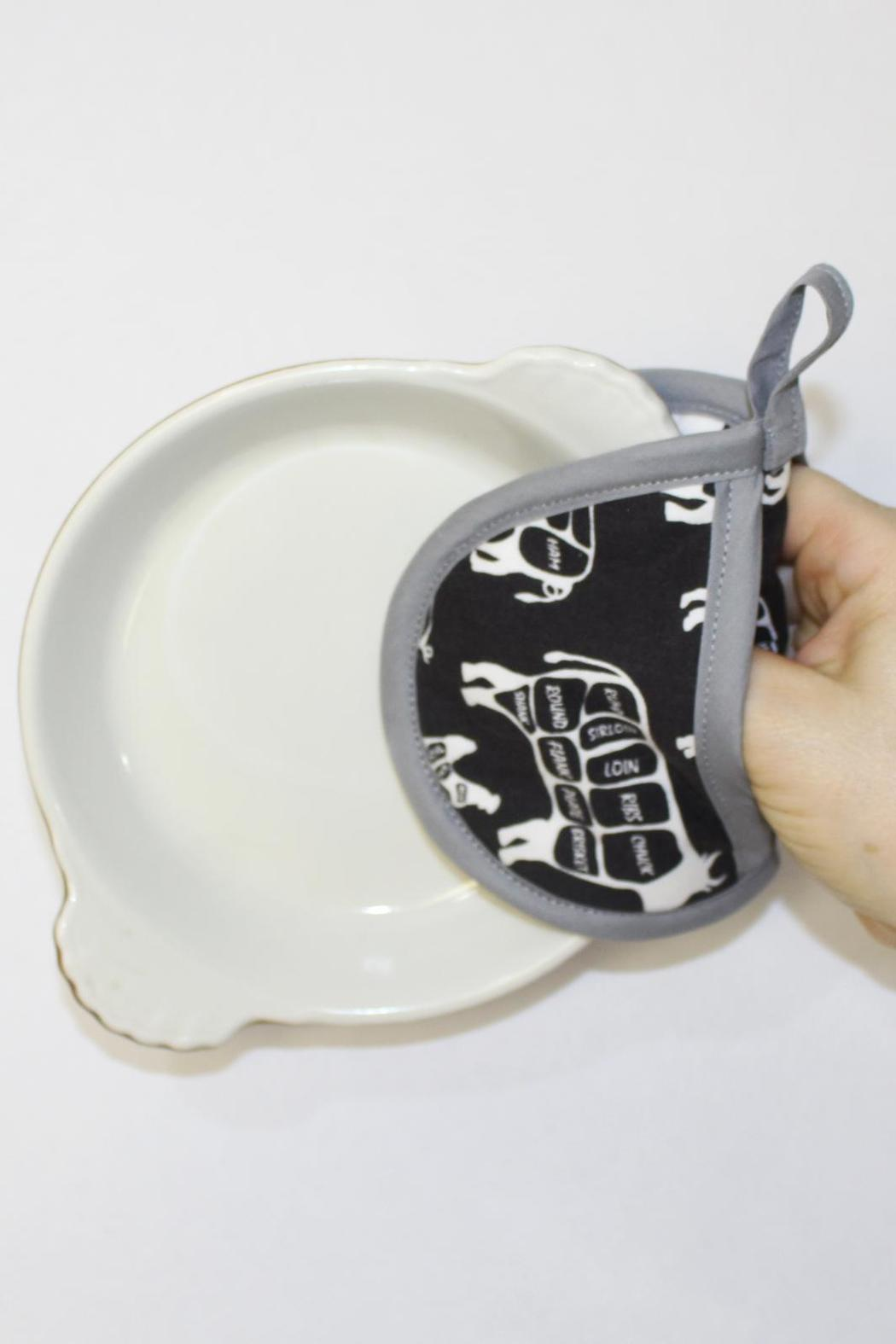 Collisionware Butcher Mini Potholder - Front Full Image