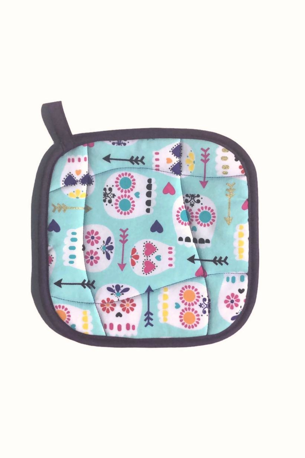 Collisionware Sugar Skull Potholder - Main Image