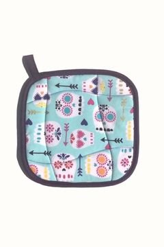 Collisionware Sugar Skull Potholder - Alternate List Image