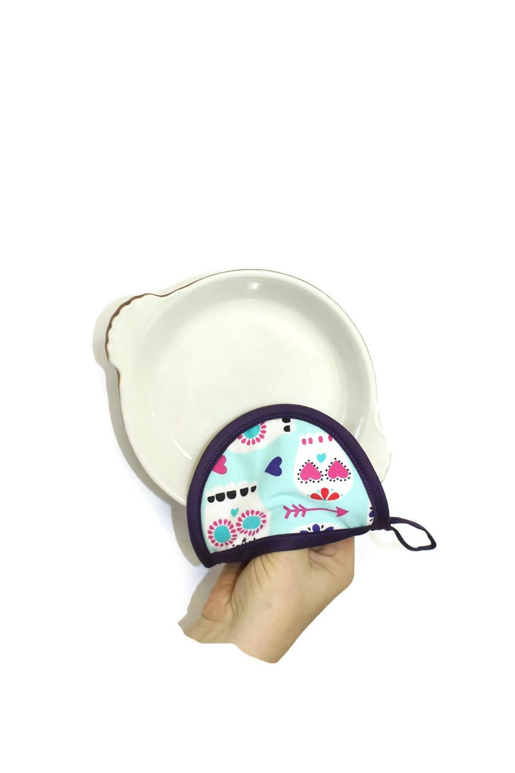 Collisionware Sugarskull Mini Potholder - Front Full Image