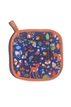 Collisionware Woodland Animals Potholder - Alternate List Image