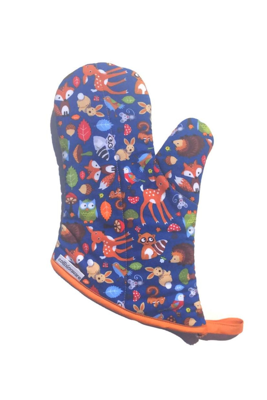 Collisionware Woodland Oven Mitt - Front Cropped Image