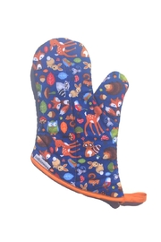Collisionware Woodland Oven Mitt - Front cropped