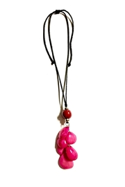 Love's Hangover Creations Colombia Pink Necklace - Product Mini Image