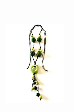Shoptiques Product: Colombian Tagua Necklace