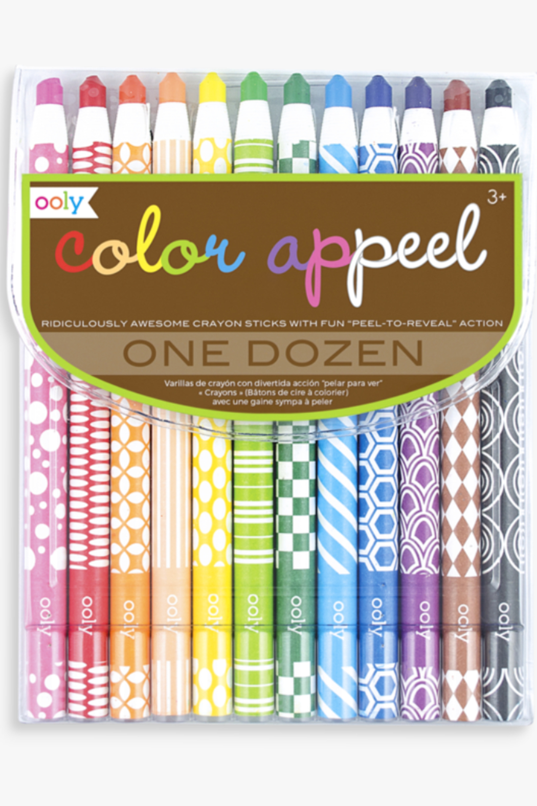 Ooly Color Appeel Crayon Sticks - Main Image