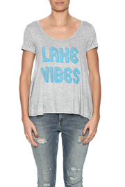 Color Bear Lake Vibes Tee - Side cropped