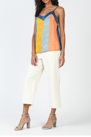 Current Air Color Block Cami Top - Front cropped