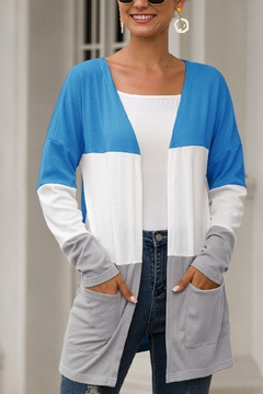 Shoptiques Product: Color Block Cardi
