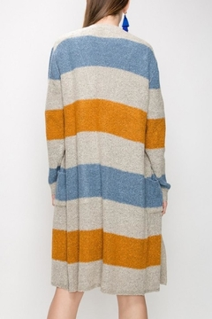 Favlux Color Block Cardigan - Alternate List Image