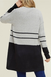 Staccato Color Block Cardigan - Side cropped