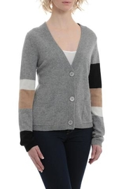 Minnie Rose Color Block Cardigan - Front cropped