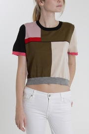 Thread+Onion Color Block Crop - Product Mini Image