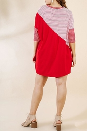 UMG PLUS Color Block Dress - Side cropped