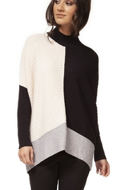 Dex Color Block Drop Shoulder Long Sleeve Sweater - Product Mini Image