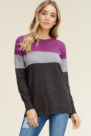 Staccato Color-Block Lightweight Sweater - Product Mini Image