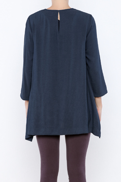 Shoptiques Product: Navy Oversized Top