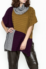 Fraas Color Block Poncho - Product Mini Image