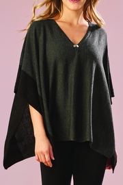 Charlie Paige Color Block Poncho - Product Mini Image